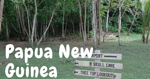 Papua New Guinea National Parks Guy