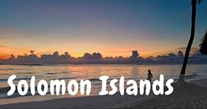 Solomon Islands, National Parks Guy